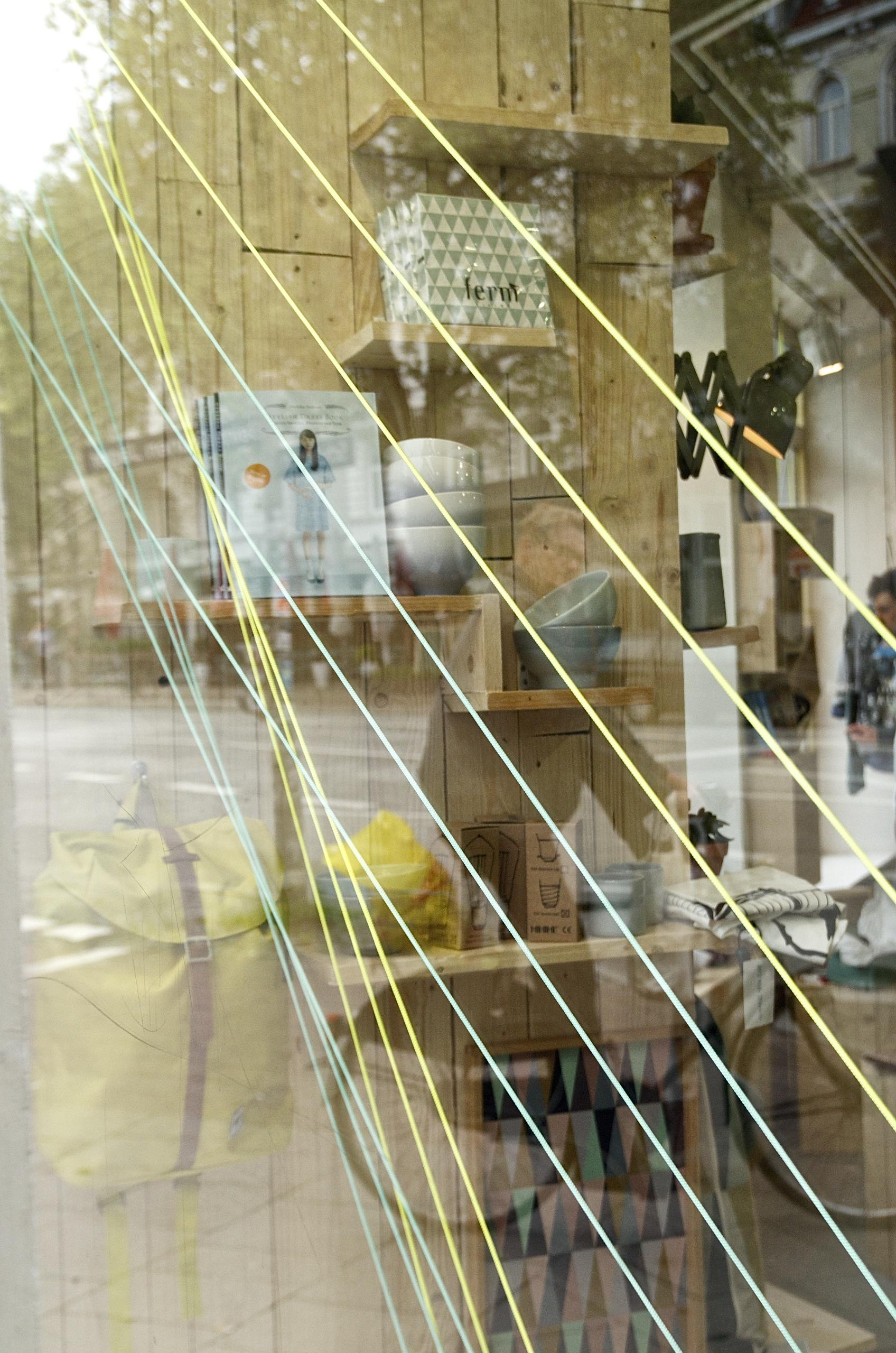 Schaufenster, Spiegelung, Ferm Living, Design
