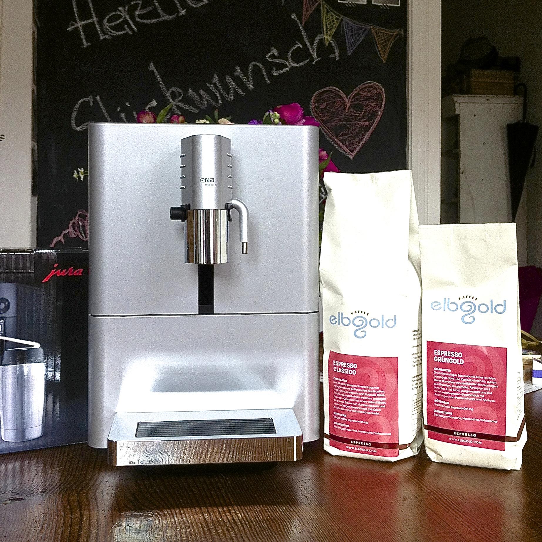 Jura Kaffeevollautomat, Elbgold Kaffee