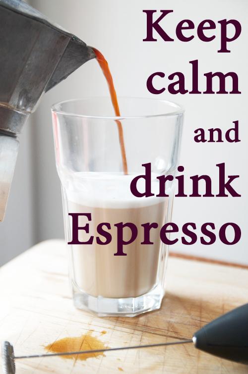 Espresso, Milchaufschäumer, Latte Macchiato