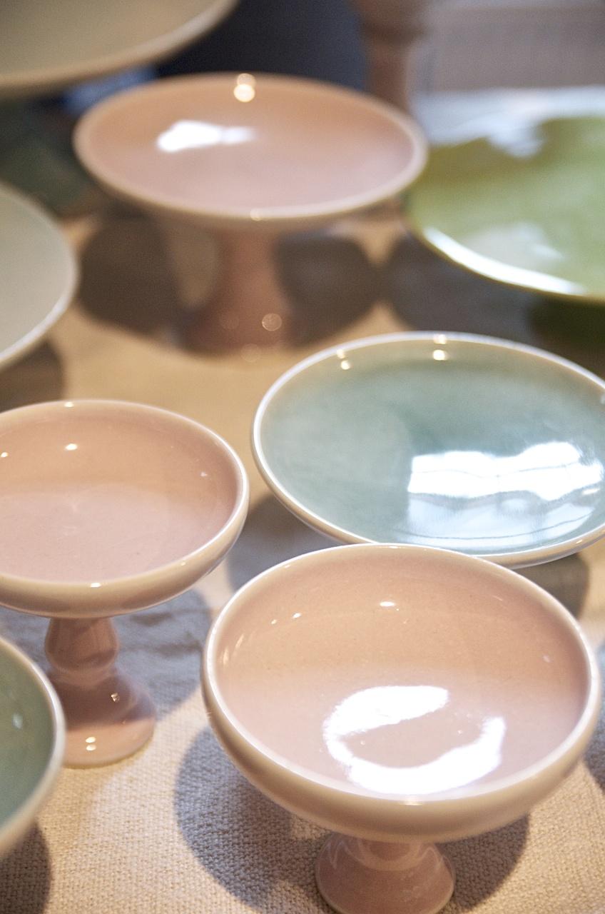 Besonders lecker 2013, 3punktf Tortenplatten, Keramik, Pinkepank