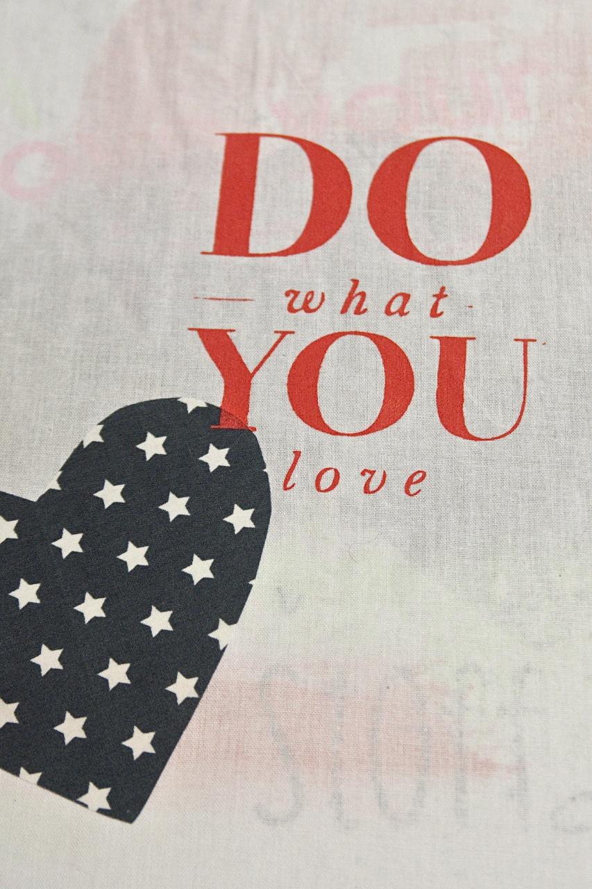 Die lange Nacht des Selbermachens von DaWanda, Siebdruck im Stoffdeck, bedruckter Beutel, Do What You Love, Pinkepank