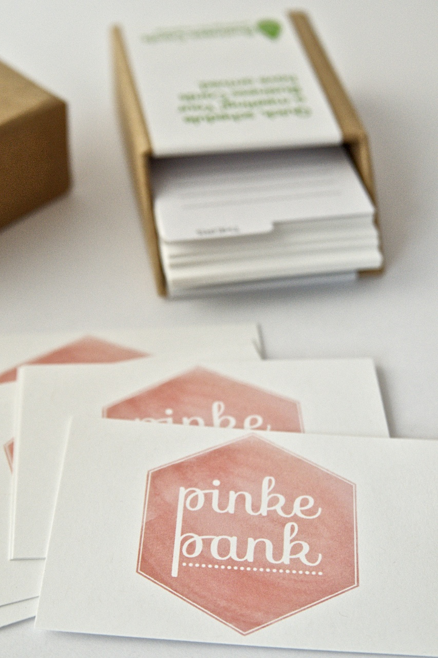 Moo Business Cards Giveaway Pinkepank