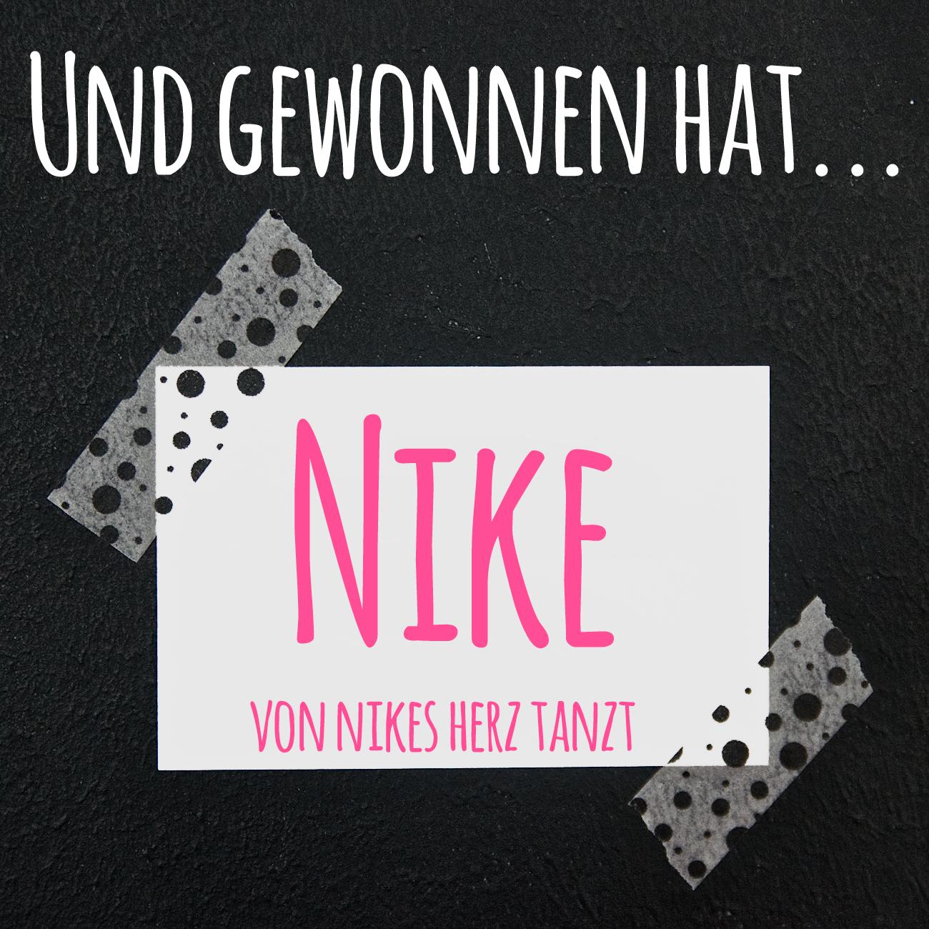 Moo Busniness Cards Giveaway Winner Nike von nikes herz tanzt Pinkepank Blog