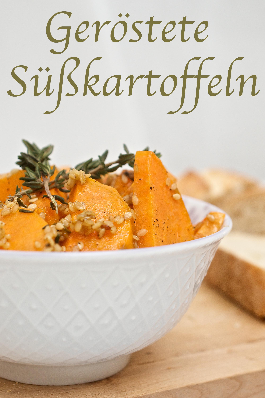 Rezept für geröstete Süßkartoffeln