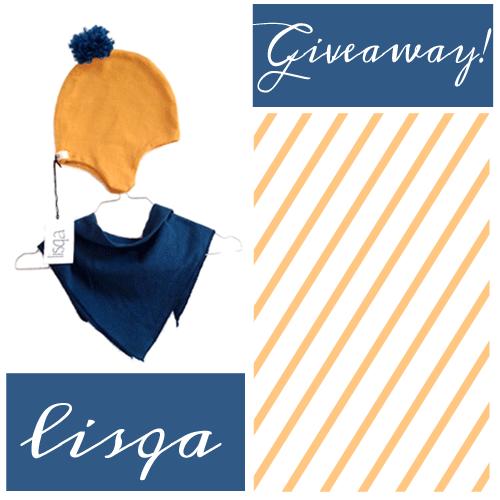 lisqa Giveaway Mütze und Halstuch für Kinder