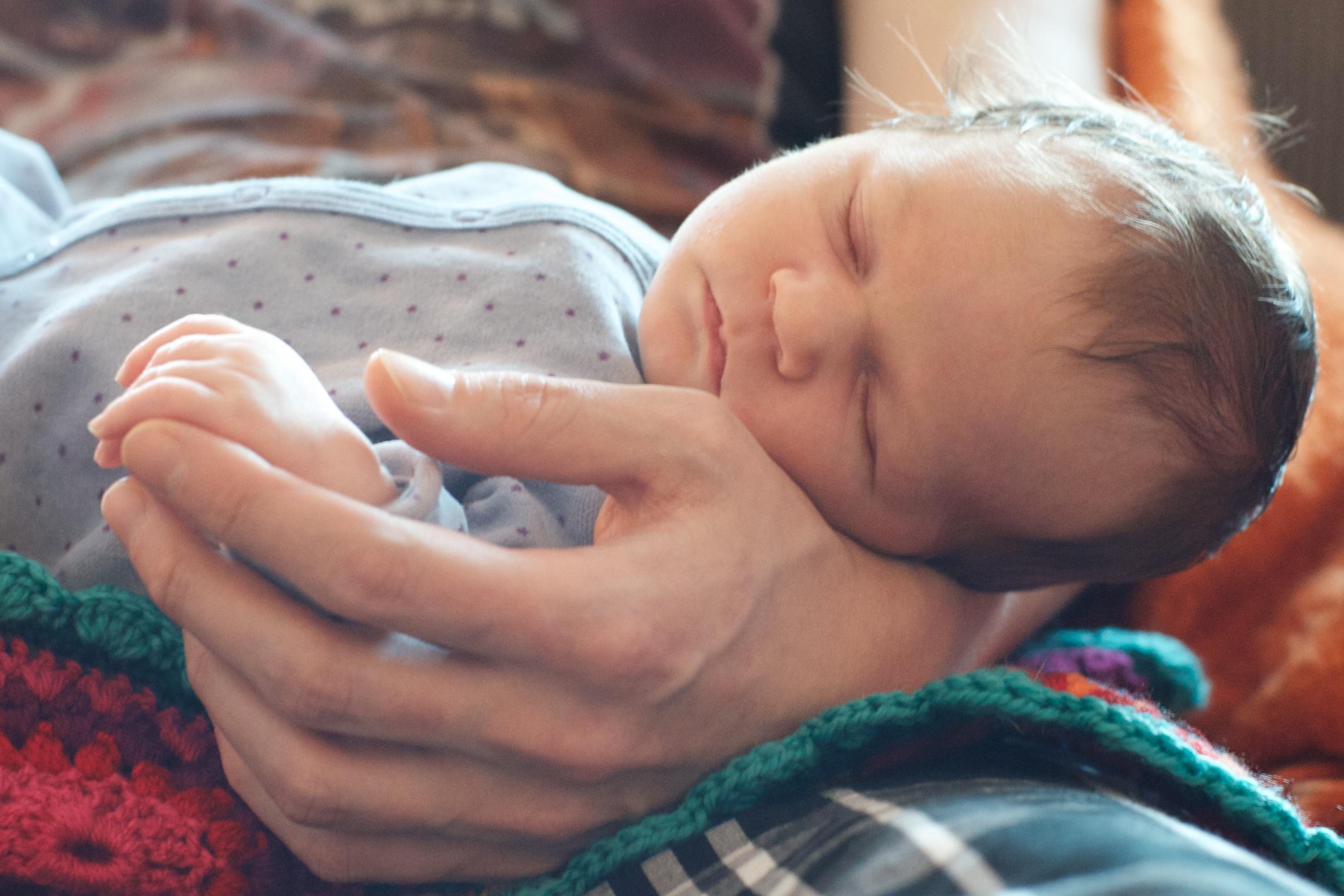 Um 12 Wochen Altes Baby
