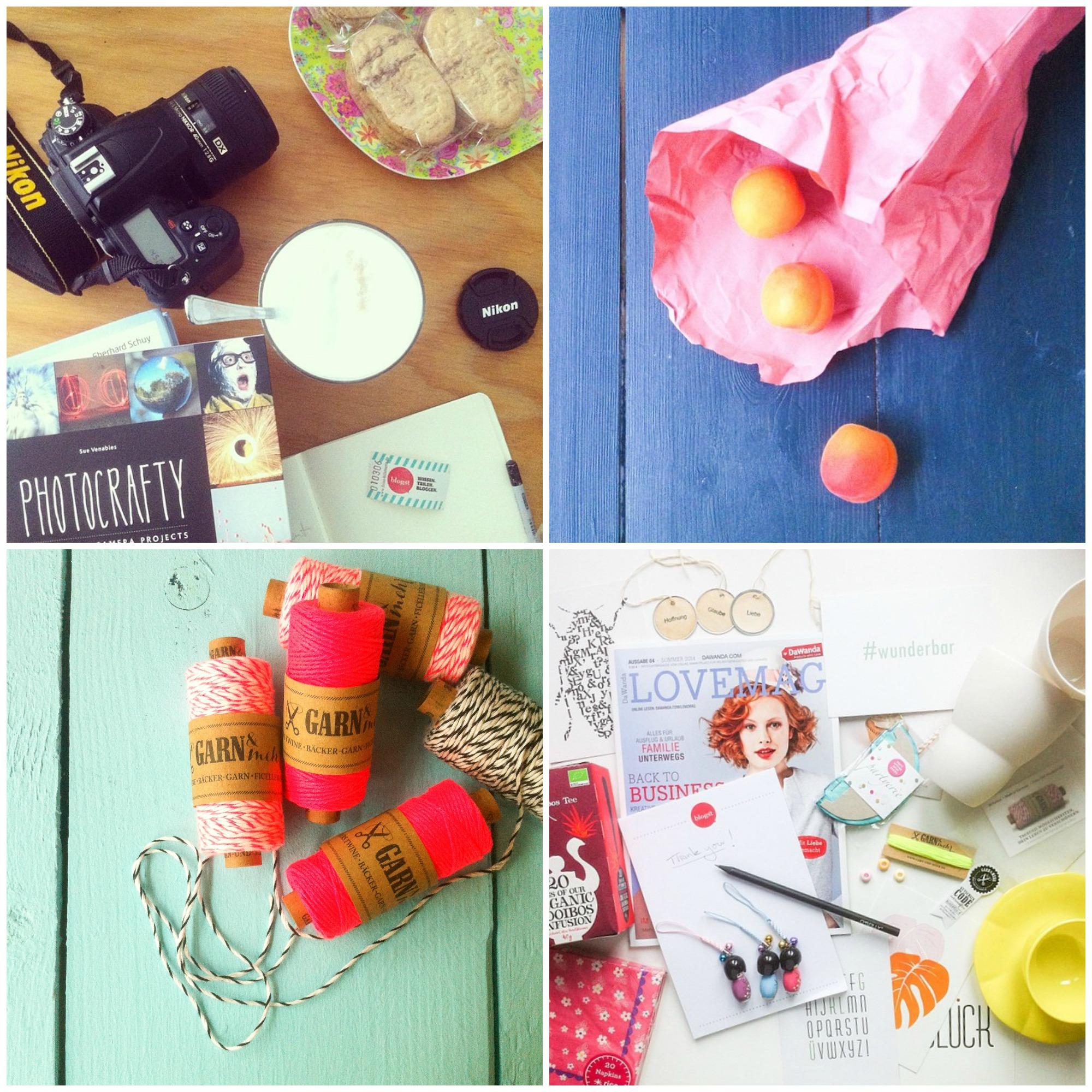 Instagram Impressionen vom Blogst Styling und Fotografie Workshop Hamburg von @pinkepanki