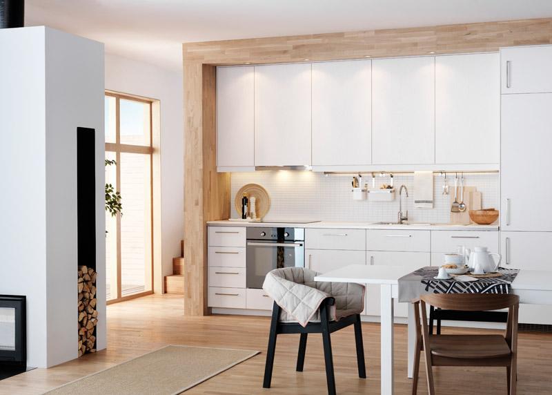Ikea Metod warmes weiß