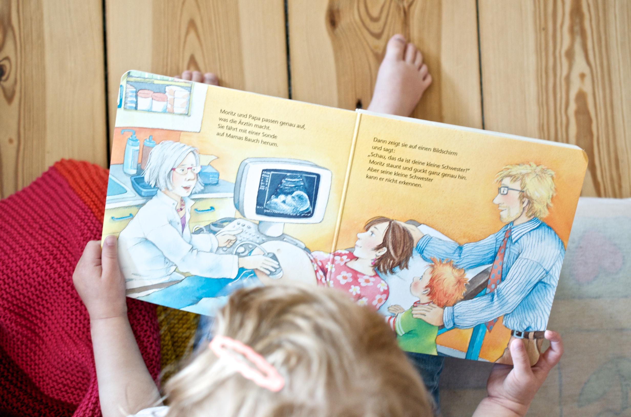 Ein Geschwisterbuch für die große Schwester