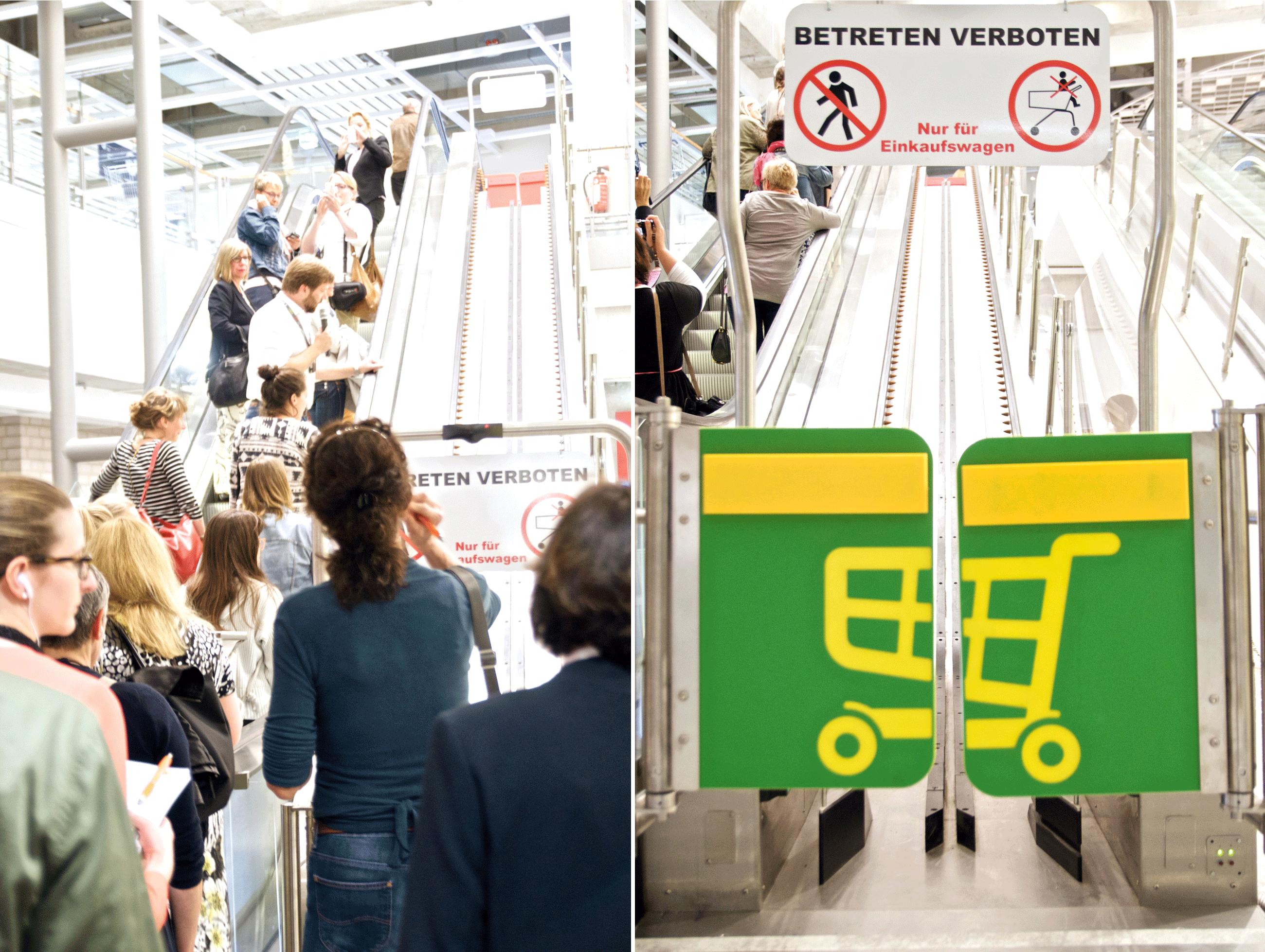Ikea-Altona-Rolltreppe-Einkaufswagen