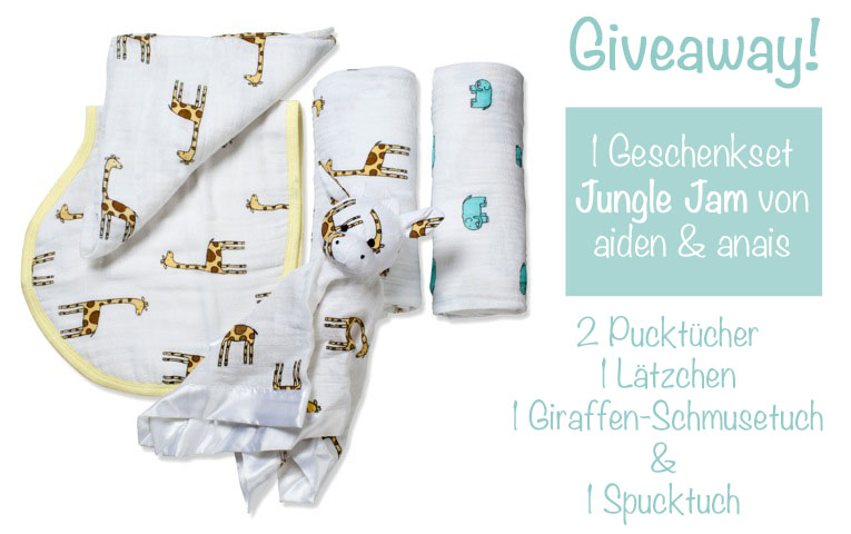 aden&anais Jungle Jam Gift Set Giveaway