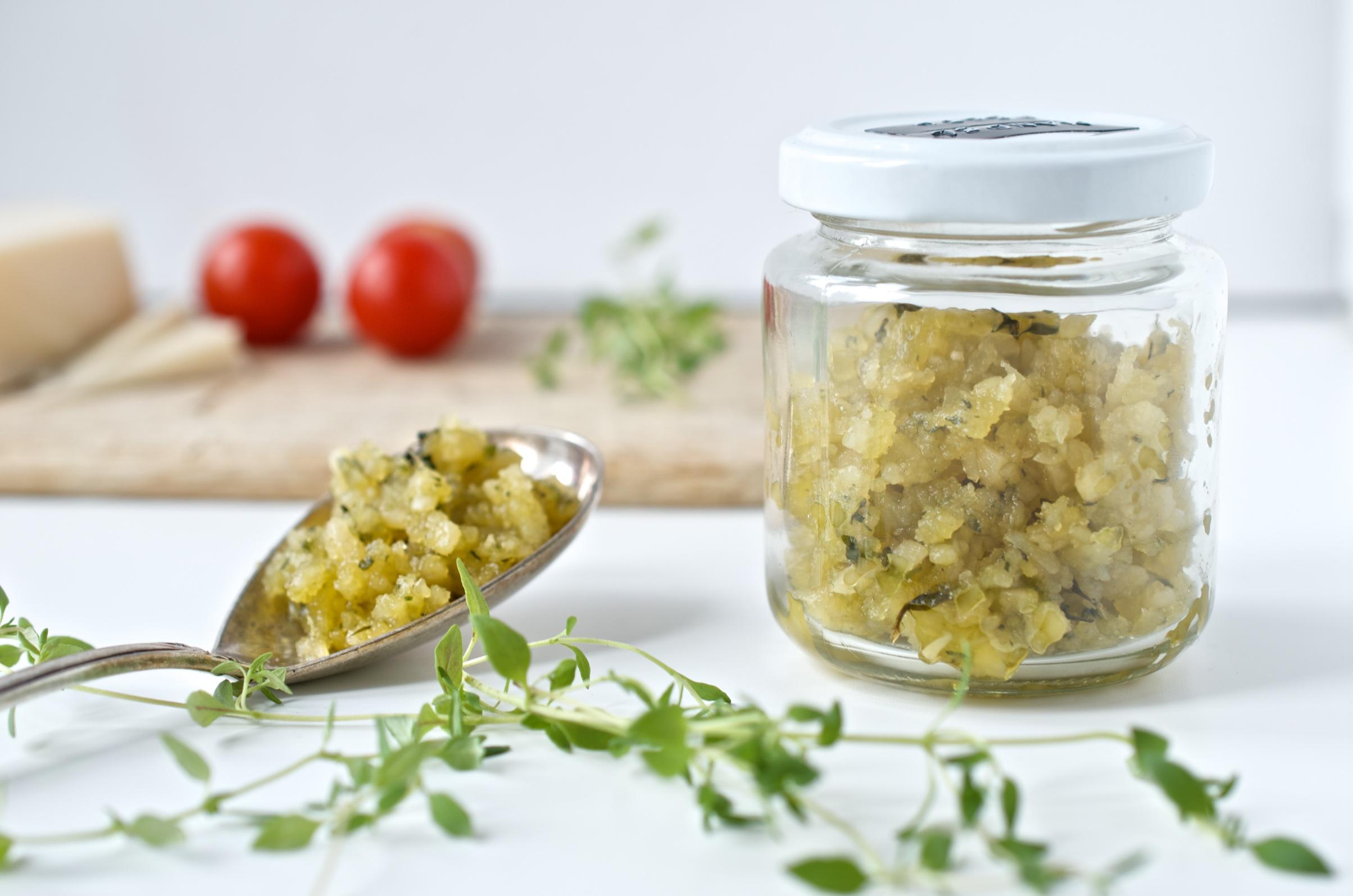 Rezept für Nudeln mit Mandelpesto