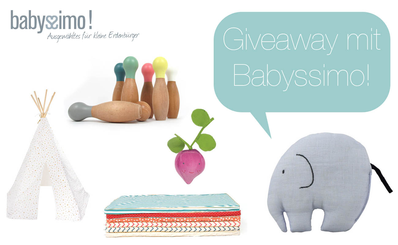 Giveaway mit Babyssimo