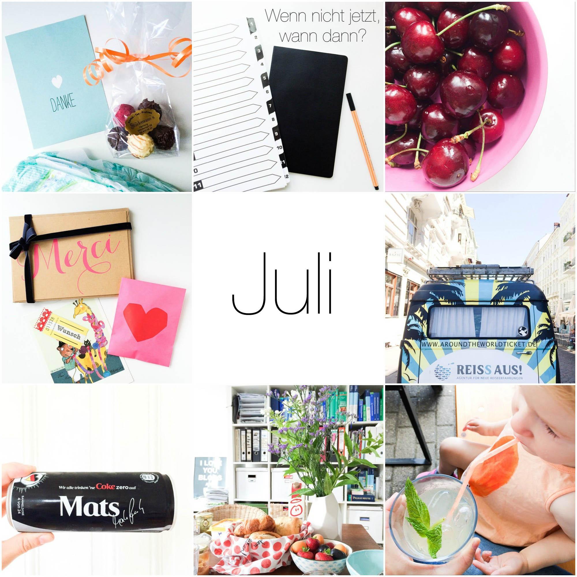 Instagram Rückblick Juli 1.1
