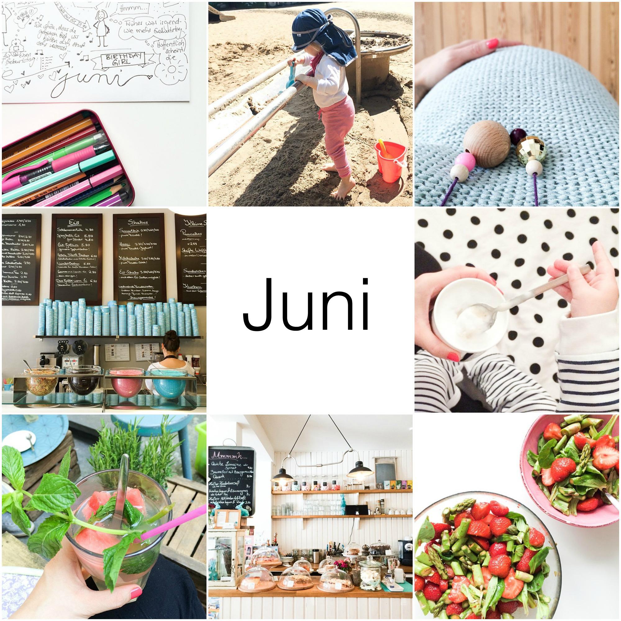 Instagram Rückblick Juni 1+