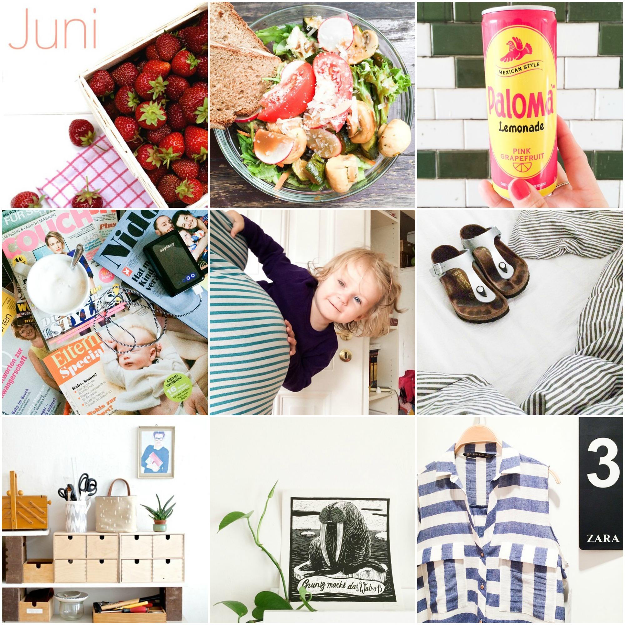 Instagram Rückblick Juni6