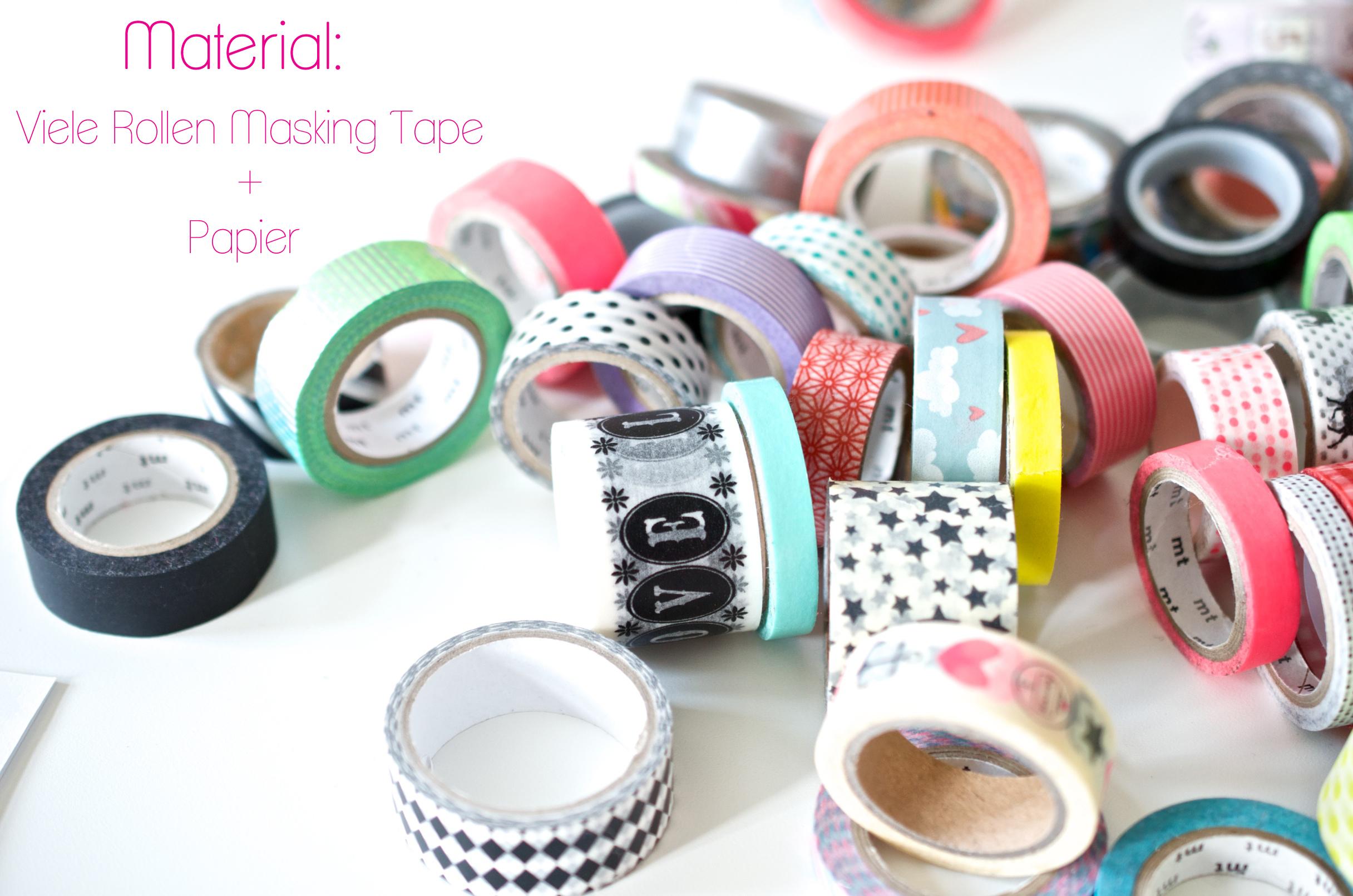 Masking Tape DIY mit Kindern