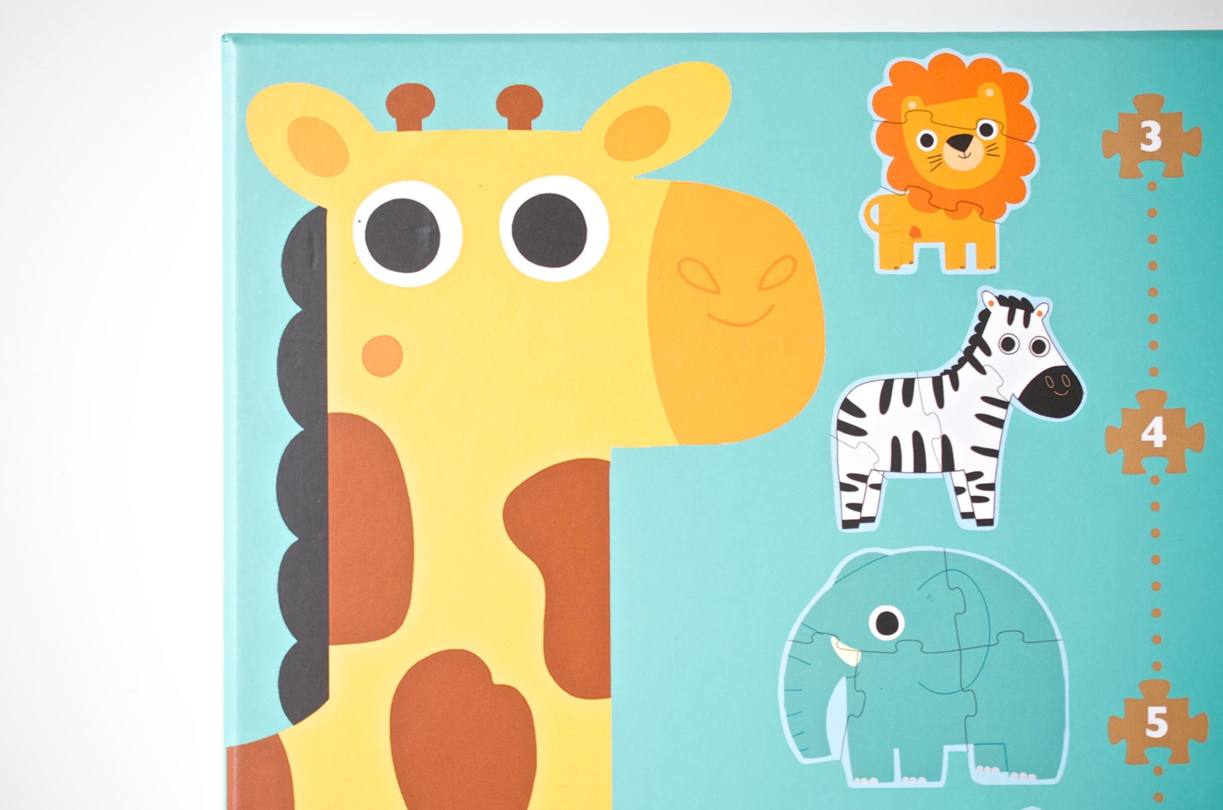Djeco Puzzle Tiere