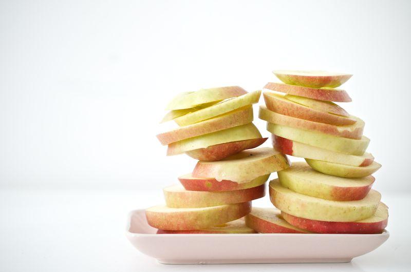 Apfel-Zimt-Küchlein, gestapelt