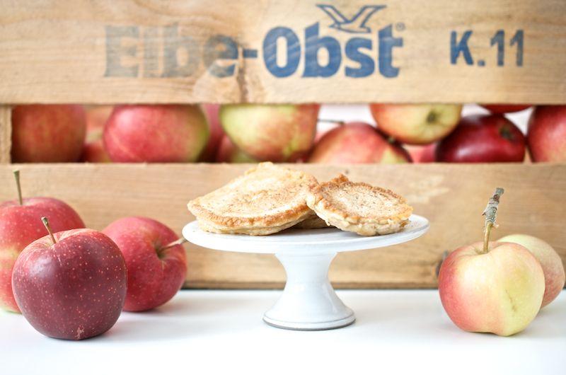 Apfel-Zimt-Küchlein Elbe-Obst