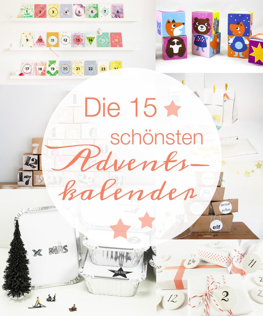 Die 15 schönsten Adventskalender