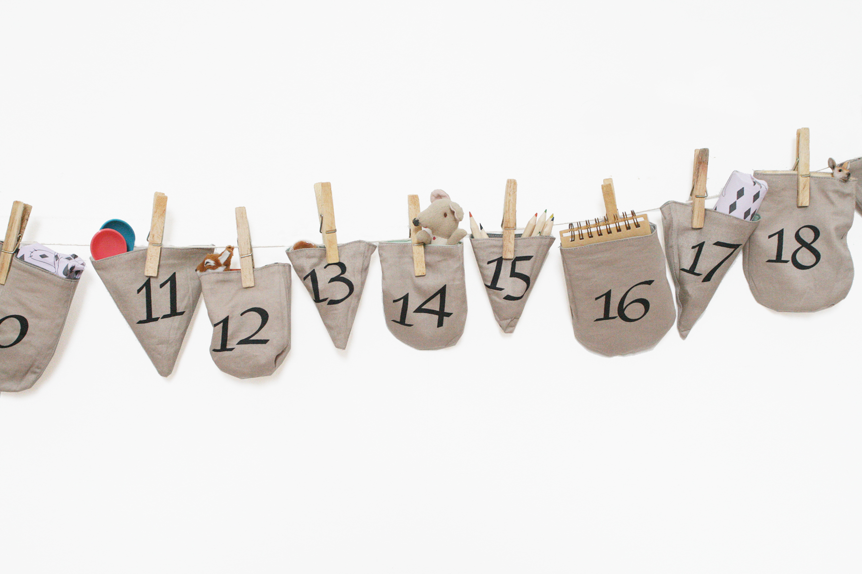 INTHEWOODS calendar on wall