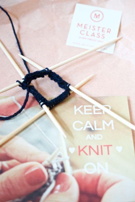 Kurs Socken stricken mit Meisterclass