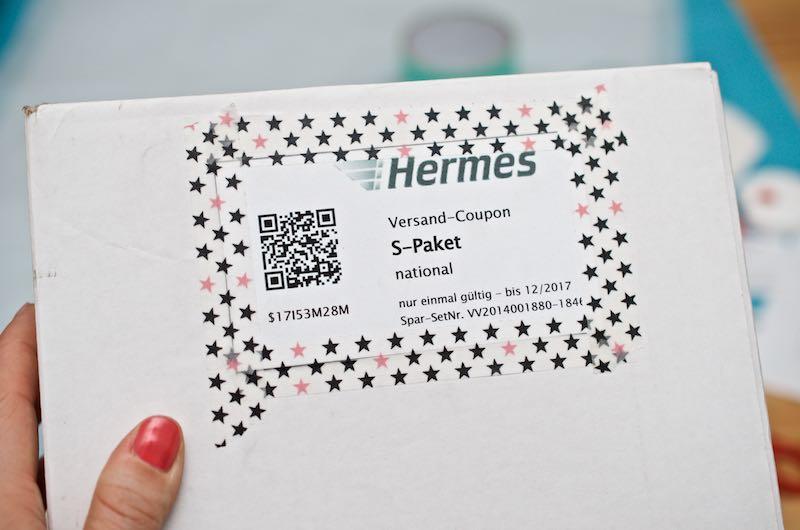 Hermes Versand-Coupon Paket S