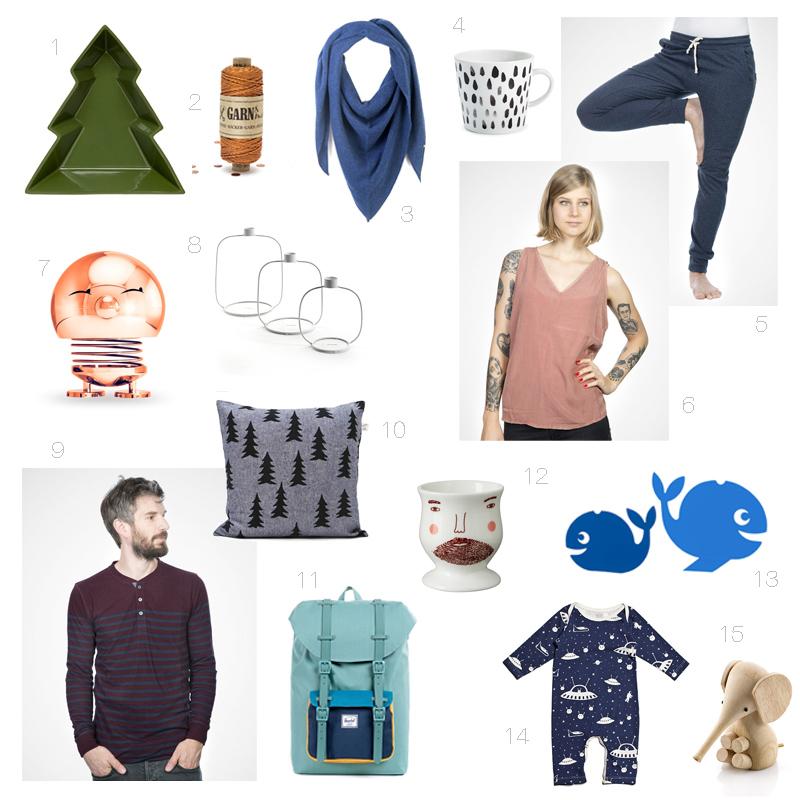 Human Empire Shop Collage Weihnachtsgeschenke