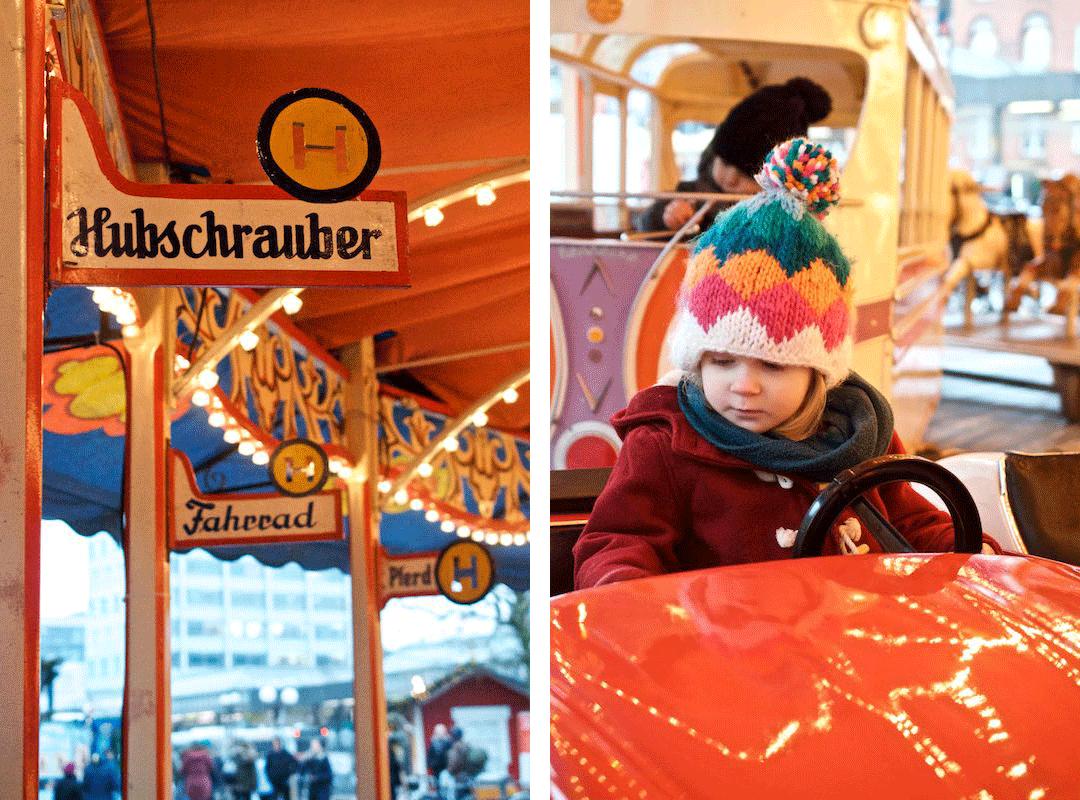 Weihnachtsmarkt-Karusell