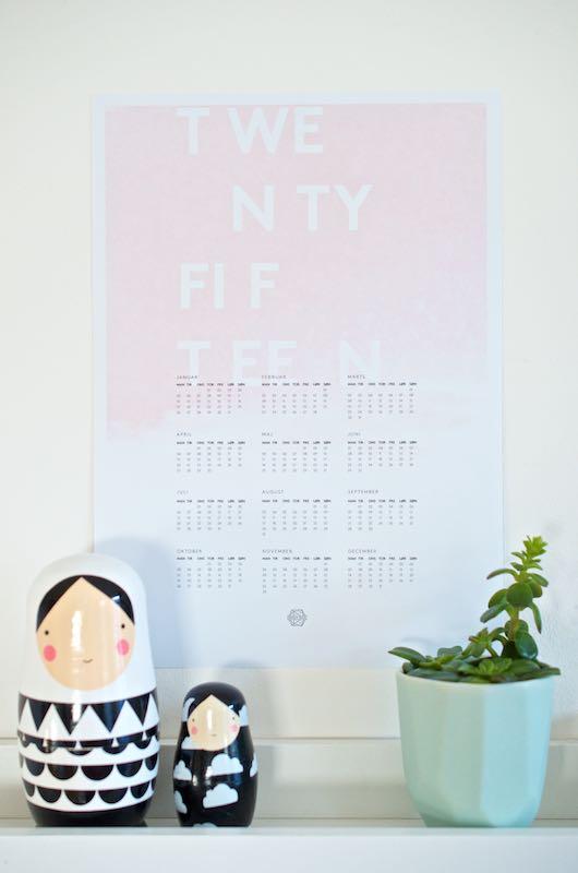 Die schönsten Kalender für 2015 | Free Printable | Pinkepank (3)