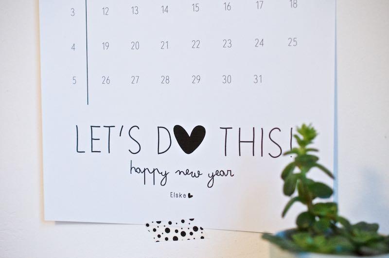 Die schönsten Kalender für 2015 | Free Printable | Pinkepank