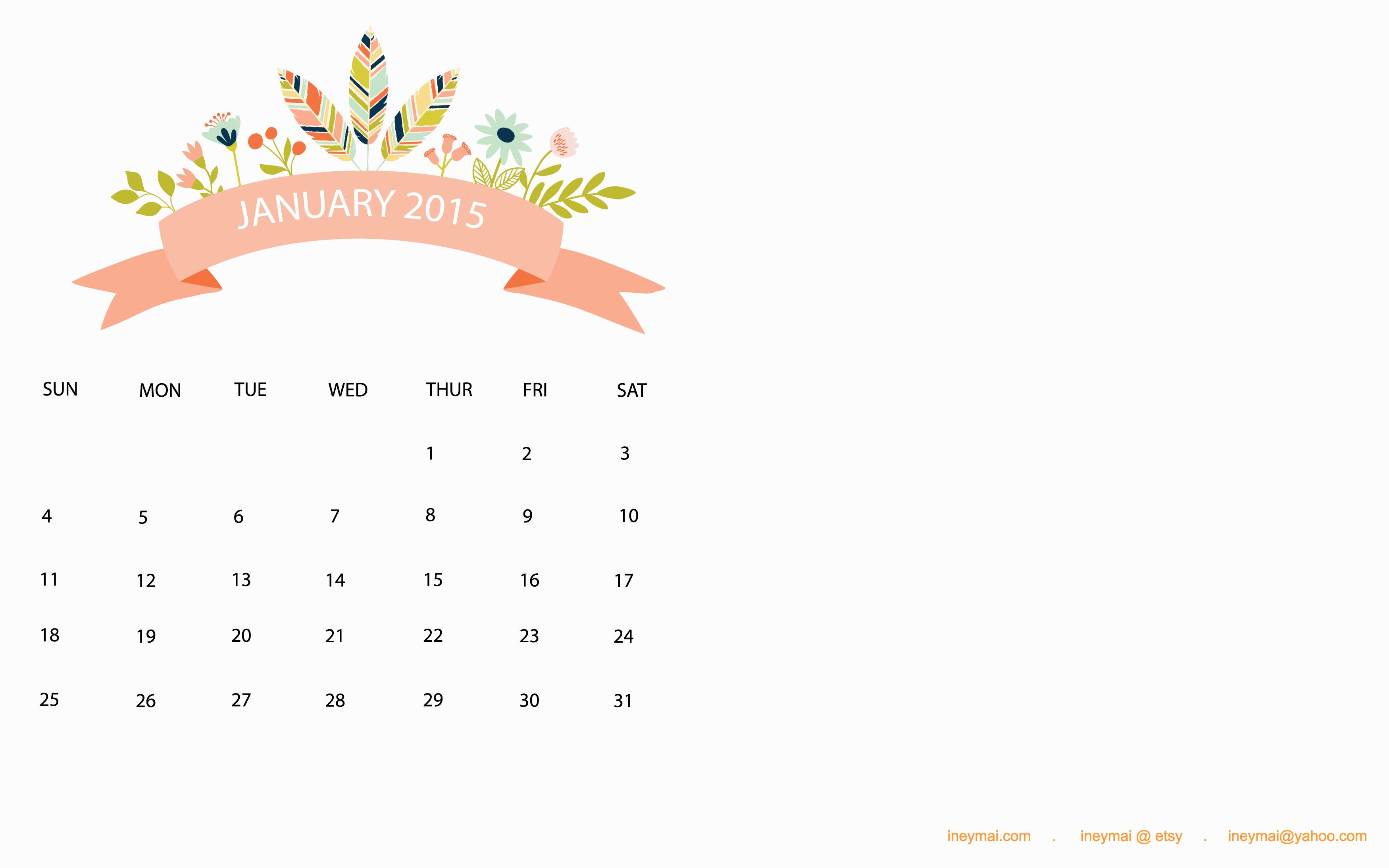 calendar2015_jan1