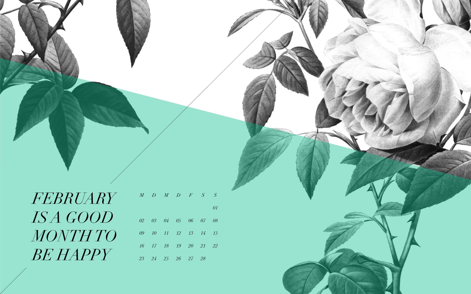 Desktop Calendar Februar 2015 | Sodapop