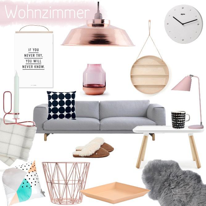 Mein Wohnzimmer Ikea Ektorp Kupfer Taupe: Wohnzimmer-Inspiration In Kupfer, Apricot Und Rosa