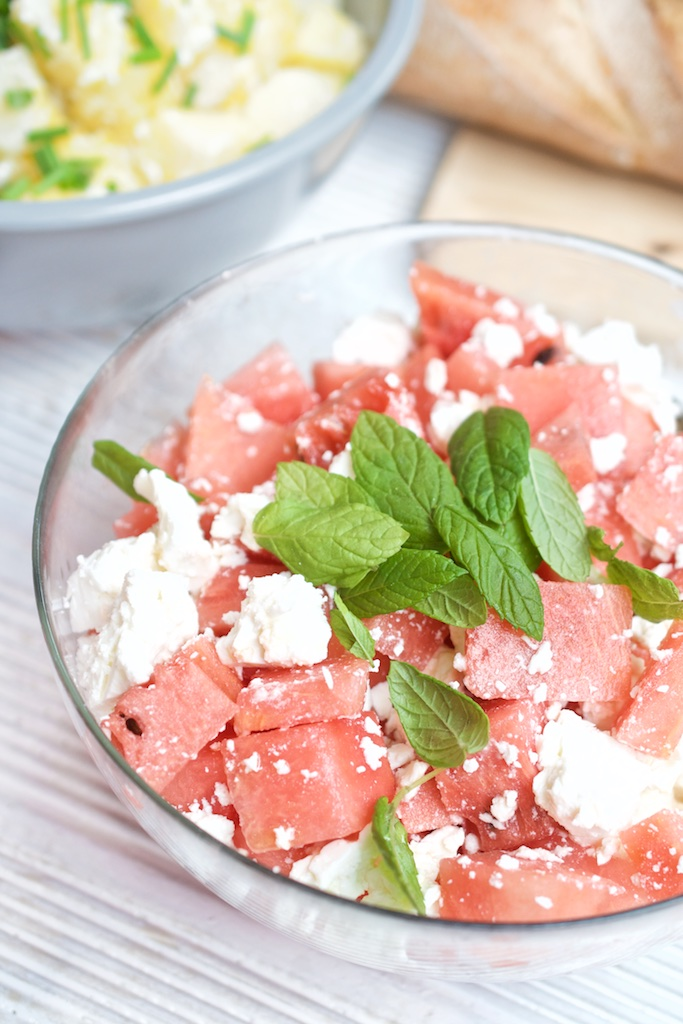 Der 30. Geburtstag - Die Party - Melonen-Feta-Salat | Pinkepank