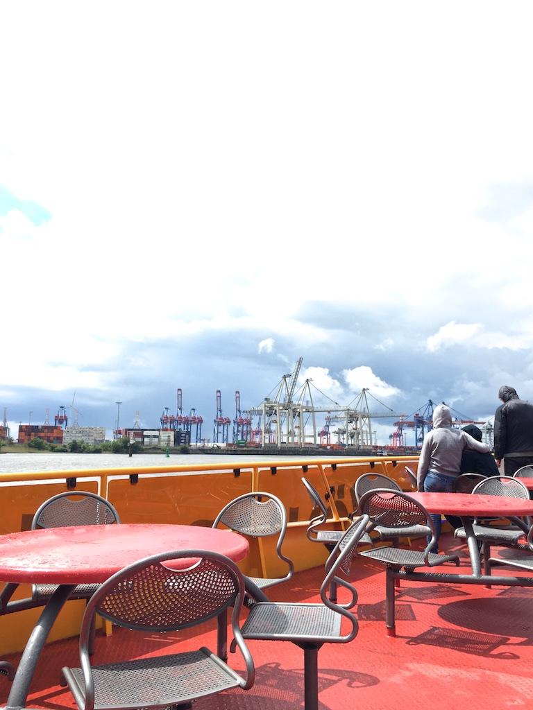 Hamburg-Tipp- Picknick auf der Hafenfähre (2)