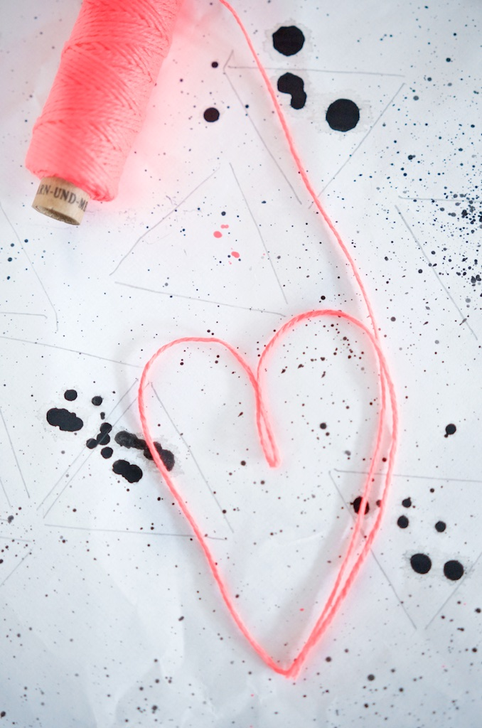 DIY Wimpelkette mit fine & josef + Garn & mehr | Pinkepank