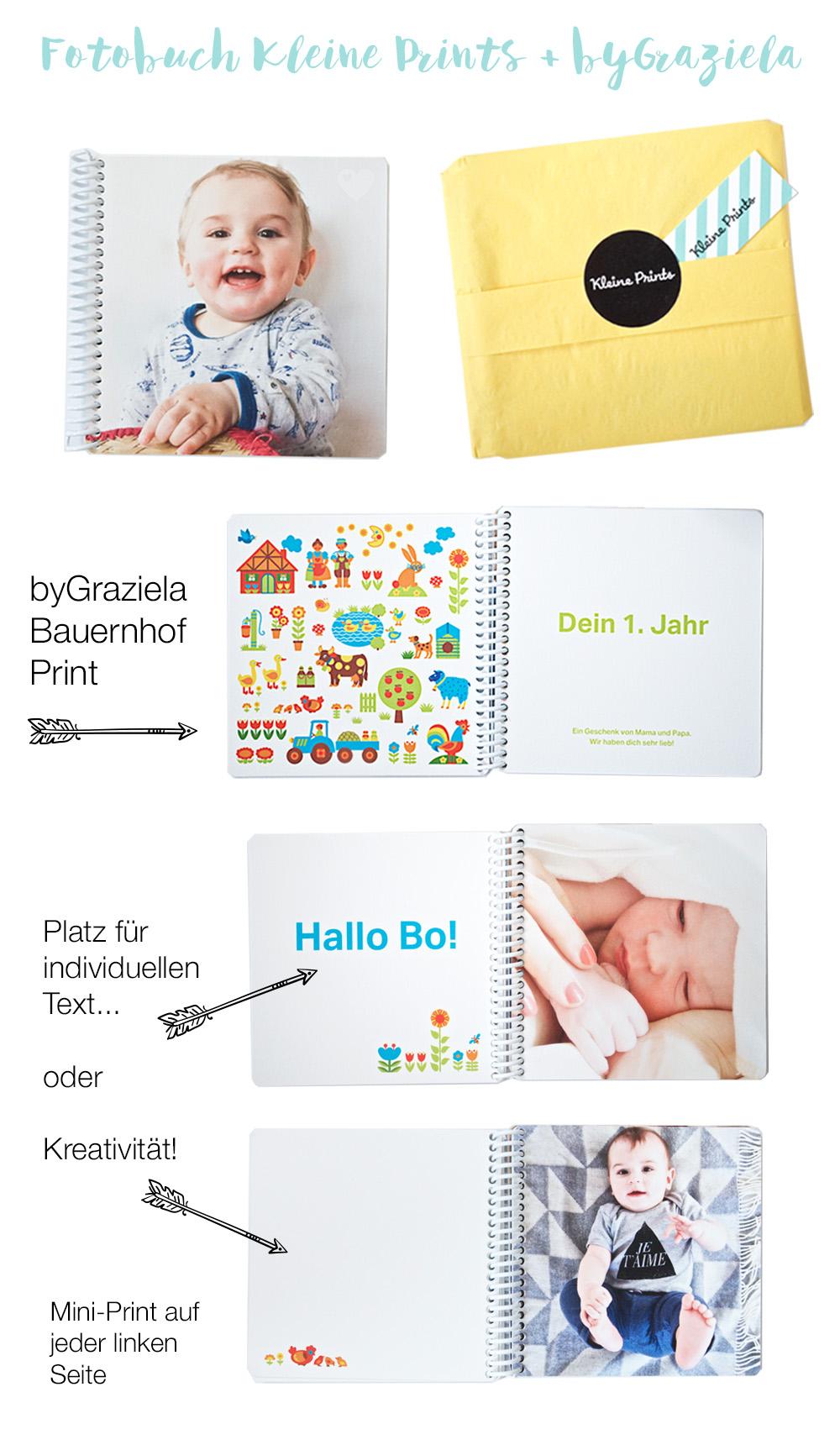 Fotobuch Kleine Prints + byGraziela | Pinkepank