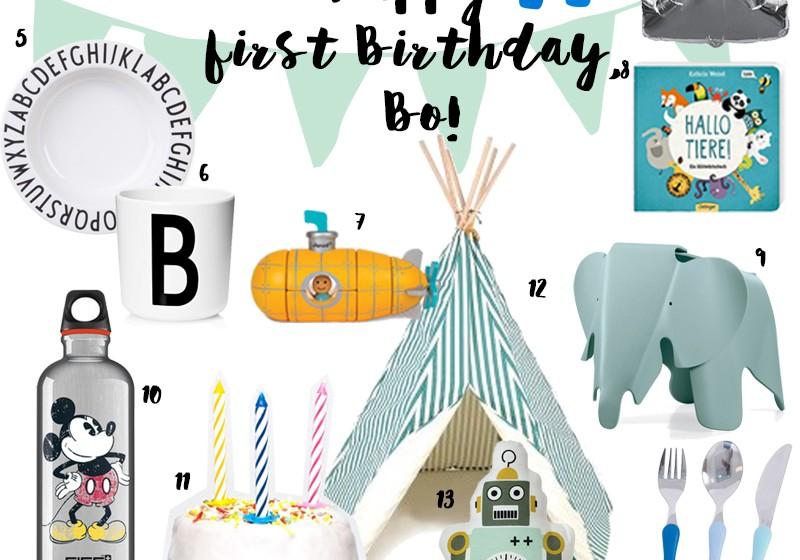 Geschenkideen zum ersten Geburtstag | Pinkepank