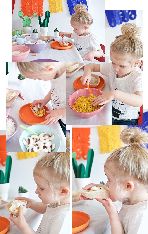 Tortillas - das perfekte Essen mit Kindern
