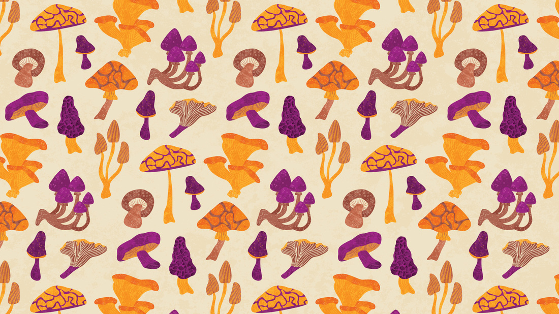 Desktop Wallpaper November 2015 Mushrooms