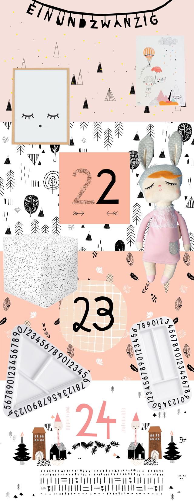 Adventskalender 2015 Weihnachtsverlosung | Pinkepank