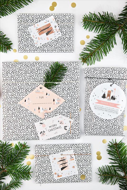 Gift Tags Geschenkanhänger Weihnachten Free Printable | Pinkepank (1)