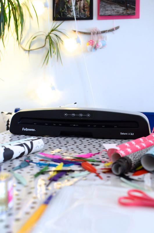 DIY laminierte Bilder mit Tasche | Pinkepank (1)