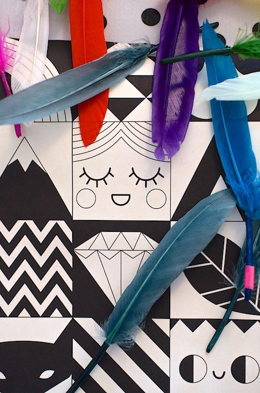 DIY laminierte Bilder mit Tasche | Pinkepank (3)