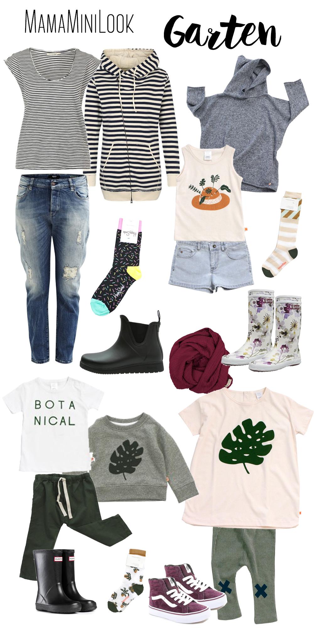 Gartenoutfit für Mama + Mini | Pinkepank