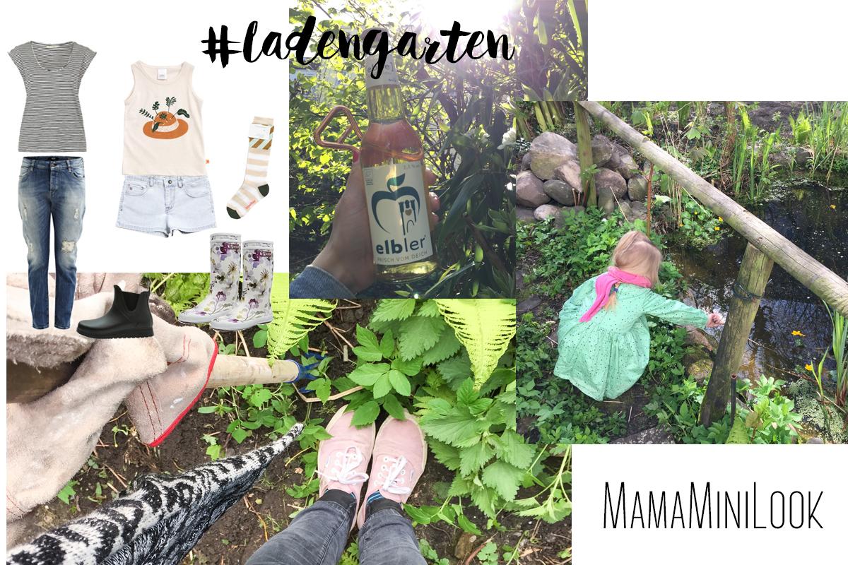 Gartenoutfits für Mama und Mini | Pinkepank