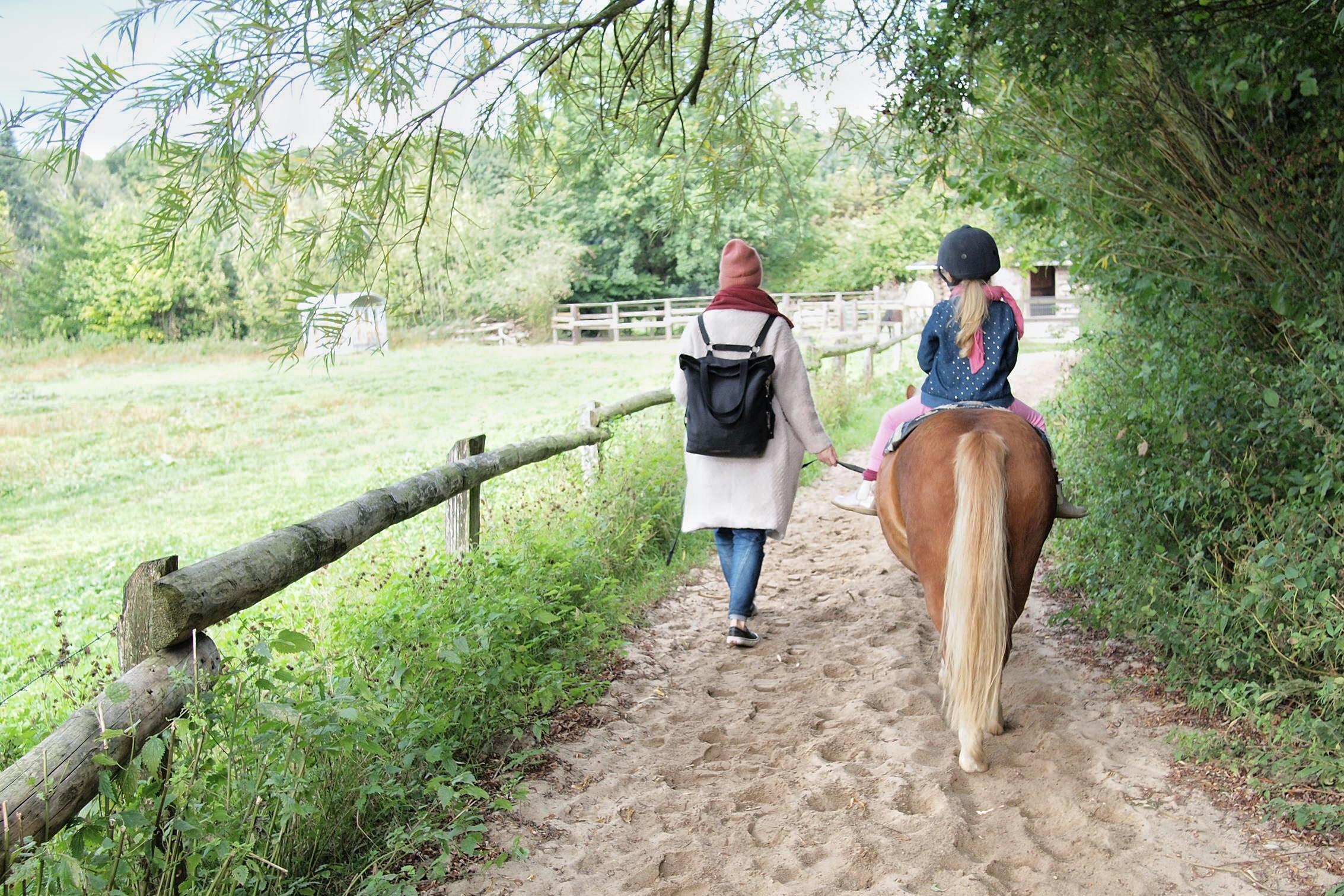 Ponyreiten in Hamburg, Ausflug mit Kindern, Niendorfer Gehege