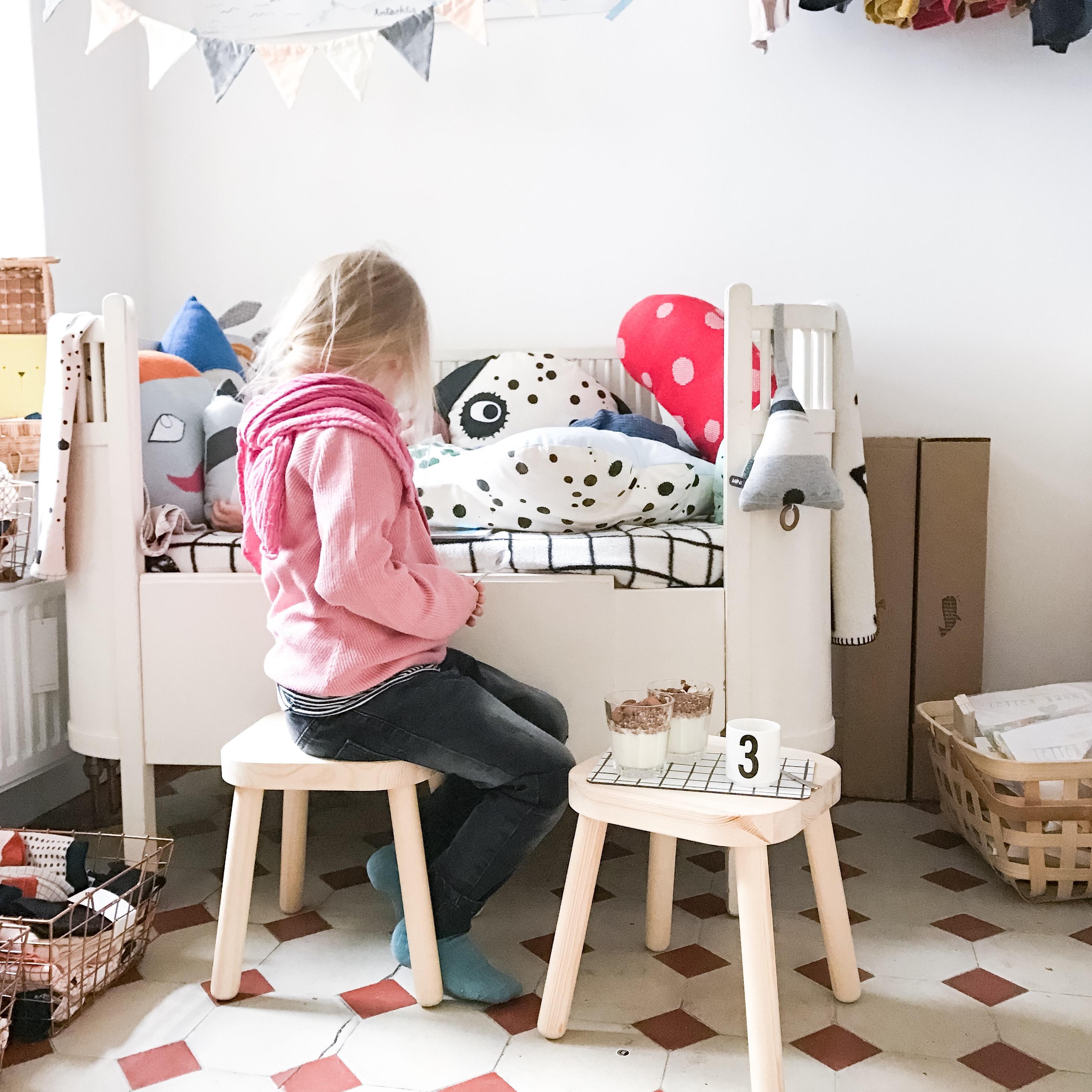 Im eigenen Laden mit Kind